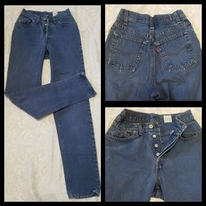 Awesome VTG High Rise Levi's